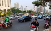Lalu Lintas di Jalan Setia Budi Tengah Dialihkan Ada Pembangunan LRT