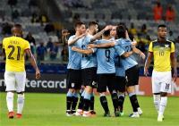 Uruguay Tundukkan Ekuador 4-0 di Copa America 2019