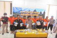 7 Pengedar Narkoba Dibekuk di Klaten, Barang Dipasok dari Nusakambangan