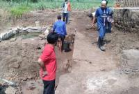 Situs Peninggalan Kerajaan Majapahit Sepanjang 21 Meter Ditemukan di Mojokerto
