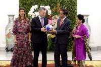 Presiden Argentina: Terima Kasih Indonesia Menerima Kami dengan Hangat