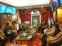 Silaturahmi dengan Sindonews, Mendagri Bicara Pengembangan Pariwisata Daerah