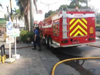 Kebakaran di Pondok Pinang Center, 13 Unit Damkar Dikerahkan