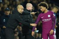 Diincar Bayern, Guardiola Ingin Sane Bertahan di Man City