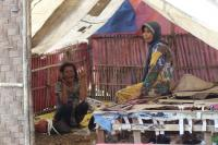 Kodim 0510 Tigaraksa Bedah Gubuk Reyot, Ibu Jamro seperti Sedang Bermimpi