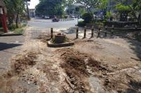 Pohon Tumbang di Purwosari Solo saat CFD Lukai Bayi 1,5 Tahun