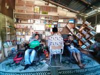 Mendonorkan Darah Sambil Baca Buku, Cara Baru Rumah Bako Berkegiatan Sosial