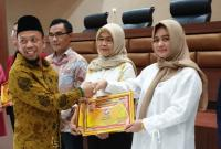 Perindo Sumsel Terima Penghargaan Pendatang Baru dengan Kursi Terbanyak