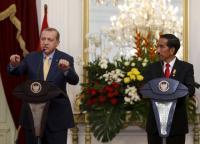Presiden Erdogan Panggil Jokowi <i>Brother Widodo</i>