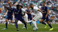 Real Madrid Ditahan Valladolid di Santiago Bernabeu