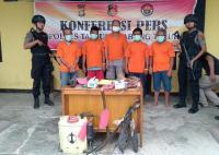 Polisi Ringkus 5 Pelaku Karhutla di Jambi