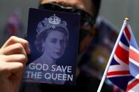 Unjuk Rasa di Konsulat Inggris, Demonstran Desak London Pastikan Kebebasan Hong Kong
