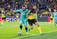 Skor Kacamata Hiasi Babak Pertama Barcelona vs Dortmund