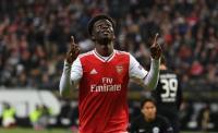 Gemilang di Laga Arsenal vs Frankfurt, Saka Disebut Lebih Baik daripada Pepe