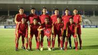 Timnas Indonesia U-16 Unggul 2-0 atas Brunei Darussalam