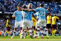 Man City Hujani Watford Lima Gol di Babak Pertama