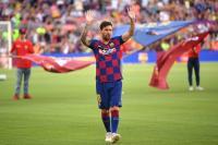Girangnya Lautaro Dapat Jersey Messi saat Tandang ke Camp Nou
