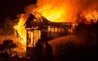 Seorang Nenek Meninggal Terjebak Kebakaran Rumah di Palembang