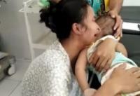 Viral Ibu Menangis Histeris Ratapi Bayinya yang Meninggal Tersengat Listrik