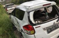 Sopir Mengantuk, Mobil Masuk Jurang di Jalur Riau-Sumbar