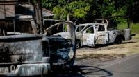 14 Polisi Meksiko Tewas Dibunuh Kelompok Kriminal Usai Konvoi Kendaraannya Diserang