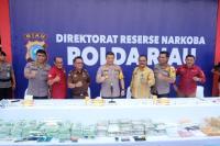 Polisi Sita 89 Kilogram Sabu yang Beredar di Riau