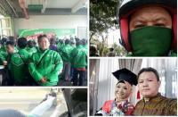 Kisah Anak Driver Ojol Wisuda, Keringat dan Air Mata Jadi Satu Demi S1
