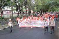 Ajak Sukseskan Pelantikan Presiden, Ribuan Warga Parade Cinta