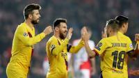 Messi Bawa Barcelona Ungguli Slavia Praha di Babak Pertama