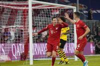 Bayern Munich Bungkam Borussia Dortmund 4-0