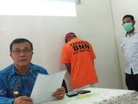 Jualan Sabu di Sekolah, Penjaga SMPN 5 Tebingtinggi Ditangkap BNN