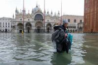 Venesia Banjir, Italia Dilanda Pasang Tertinggi Dalam 50 Tahun