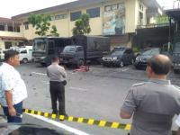 Polisi Geledah Rumah Terduga Pelaku Bom Bunuh Diri di Polrestabes Medan