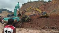2 Pekerja Tambang Tewas Tertimbun Bersama Truk dan Eskavator