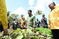 Mentan Syahrul Tak Biarkan Alih Fungsi Lahan Untuk Kedaulatan Pangan