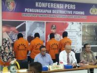 Bareskrim Tangkap 19 Pelaku Illegal Fishing