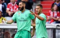 Sejak Gabung Madrid, Hazard Akui Benzema Pantas Disebut Striker Terbaik