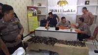 Pilkades di Sampang Ricuh, Ratusan Senjata Tajam dan Senpi Disita Polisi