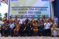 Bea Cukai Tual Canangkan Zona Integritas Menuju WBK WBBM