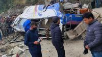 14 Orang Tewas Akibat Bus Jatuh ke Jurang di Nepal