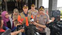 Tinjau Longsor, Polri Pastikan Tindak Tegas Tambang Liar di Bogor