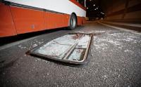 Polisi Dalami Penyebab Bus Pariwisata Terguling di Subang