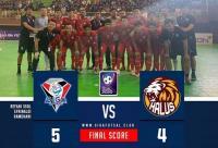 Dramatis, Giga FC Kota Metro Kalahkan Halus FC Jakarta 5-4