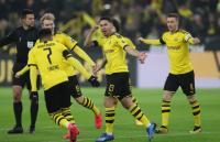 Brace Haaland Bantu Dortmund Bantai FC Koln