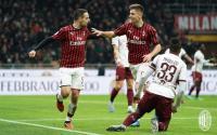 Kalahkan Torino 4-2, AC Milan ke Semifinal Coppa Italia 2019-2020