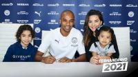 Man City Resmi Perpanjang Kontrak Fernandinho