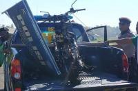 Diduga Ada Korban dalam Peristiwa Motor Hangus Terbakar di Pantai Gianyar