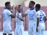 PSS vs Persib, Bahagianya Wander Luiz Cetak Gol di Hari Ulang Tahun