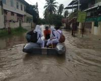 Hujan Deras Guyur Parepare Sulsel, Banjir Rendam Sejumlah Jalan