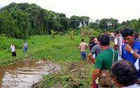 Diduga Stres, Pria Ini Nyebur ke Sungai Sedalam 1,5 Meter